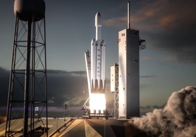 VIDEO: SpaceX tested Falcon Heavy Core successfully